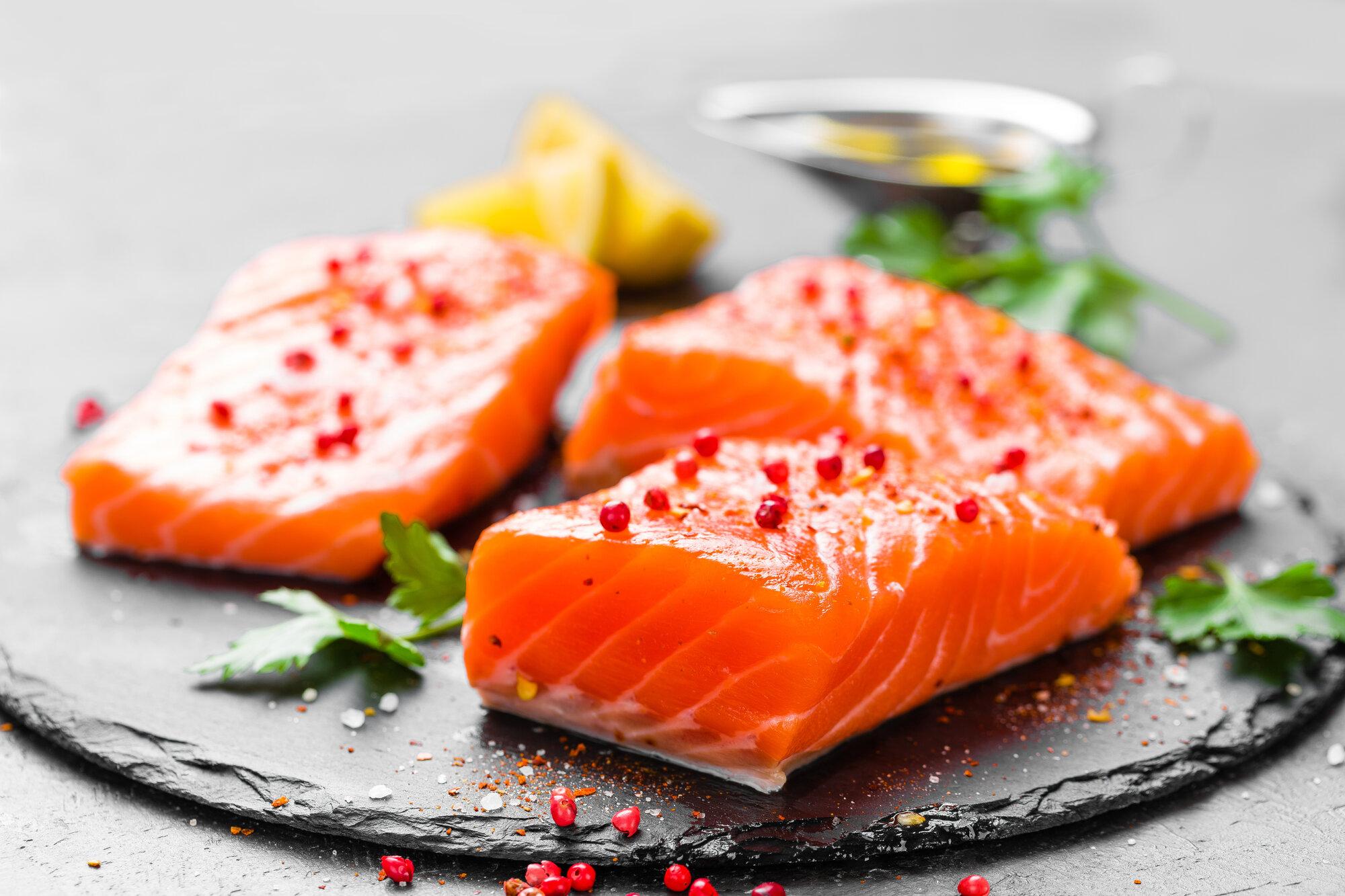 salmon fresh salmon fish raw salmon fish fillet PVSUNQG - Startseite